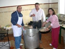 La ONG Porcuna por los niños celebró su cocido solidario