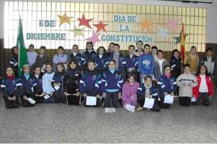 El Colegio Santa Teresa también celebra el Día de la Constitución