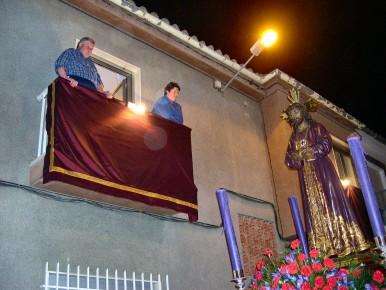 Por segundo año consecutivo el Cristo de Medinaceli recorre las calles de Porcuna