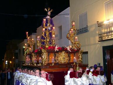 Con Jesús Preso, la noche del Miércoles Santo se vistió de penitente