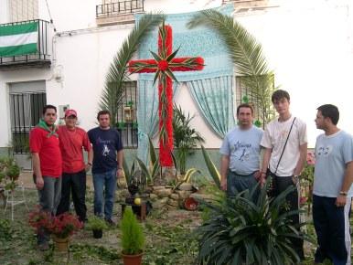 La cruz de la calle Cruz de la Monja fue la ganadora del concurso