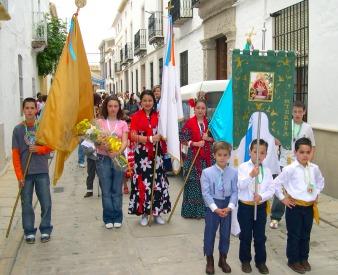 Impresionante la primera Romería Escolar organizada por el Colegio Santa Teresa de Porcuna