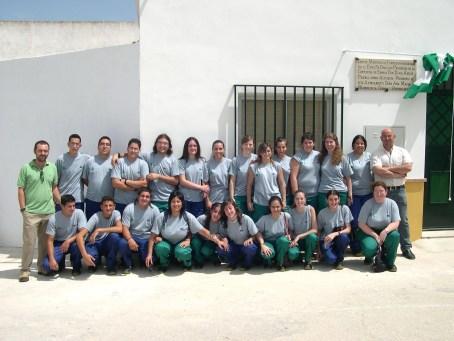"""La escuela taller """"Cerrillo Blanco"""" forma a 24 jóvenes"""