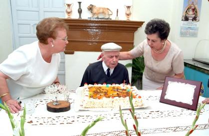 Antonio González cumple 100 años