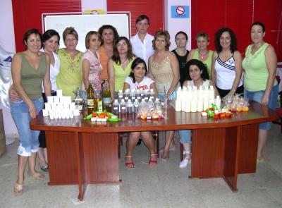 Termina el curso formativo de elaboración de cosméticos con aceite de oliva