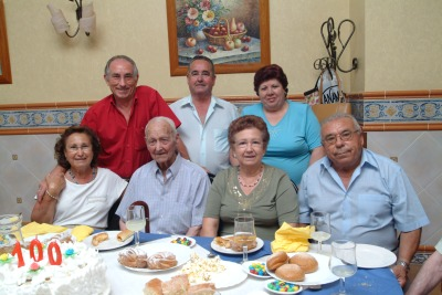 Manuel Benito Cespedosa cumple 100 años