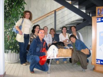 Las Unidades de Género y Olivar de Arjona y Porcuna intercambian experiencias en Francia