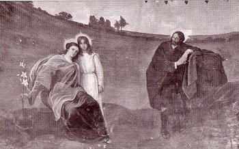 La humedad amenaza los frescos de Romero de Torres