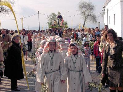 La Borriquita centra el interés en el Domingo de Ramos