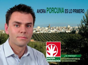 El Partido Andalucista de Porcuna presenta esta noche su lista electoral para las elecciones municipales