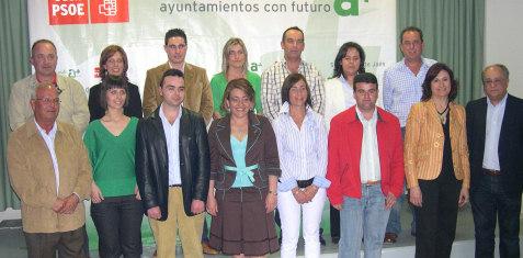El PSOE presenta una candidatura con experiencia y juventud para las elecciones municipales