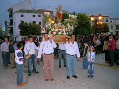 San Marcos sale en procesión en el día de su festividad