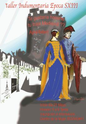 El Centro de la Mujer organiza un taller de trajes medievales