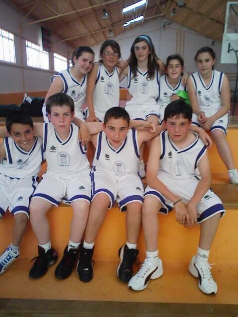 Los alevines de baloncesto campeones de los Juegos Deportivos Provinciales