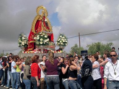 Porcuna celebra la Fiesta de las Flores