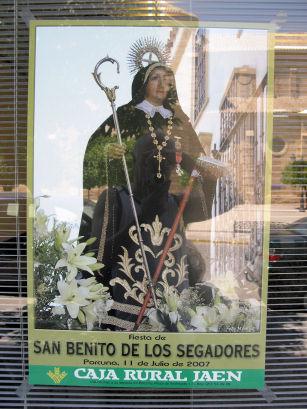 Mañana se celebrará la Fiesta de San Benito de los Segadores