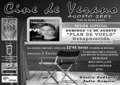 Sesión especial en el Cine de Verano de la ONG 'Porcuna por los niños'