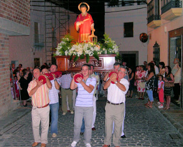 El barrio de San Lorenzo celebró la festividad de su santo