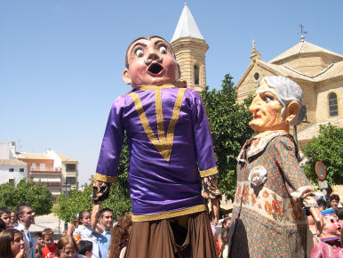El Paseo de Jesús volvió a ser el centro de los festejos de la Feria Real 2007