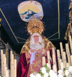 Este sábado comienzan los actos de conmemoración del 250 aniversario de la devoción a María Santísima de los Dolores