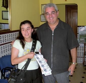 Un premio de la ONCE reparte 350000 euros en Porcuna