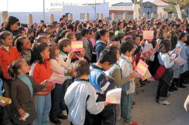El colegio Juan Carlos I celebra el Día de la Constitución