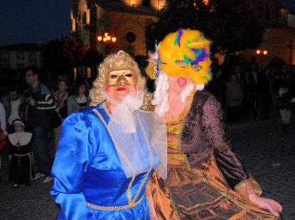 Gran ambiente en el Carnaval de Porcuna