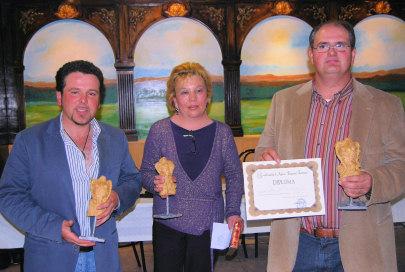 Marcial del Pino, ganador del Certamen Literario 8 de marzo