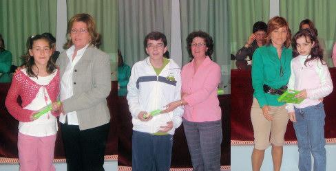 Entrega de premios del II Certamen Literario Infantil 8 de marzo