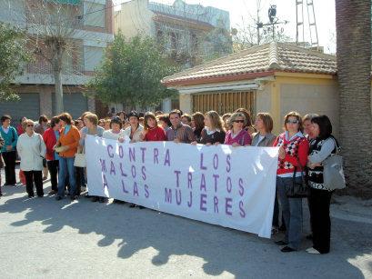 Concentración de las mujeres el día 8 de marzo