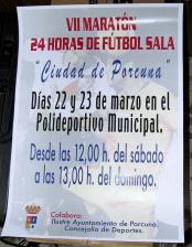 VII Maratón 24 horas de Fútbol Sala 'Ciudad de Porcuna'