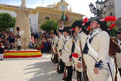 Porcuna celebra por todo lo alto los preparativos históricos de la Batalla de Bailén