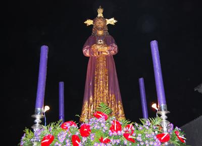 El Cristo de Medinaceli procesionó este Lunes Santo