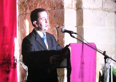 José Javier Ruiz pronunció el Pregón de Semana Santa