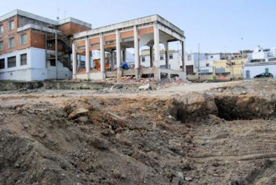 Las obras del apeadero de autobuses de Porcuna ya están en marcha
