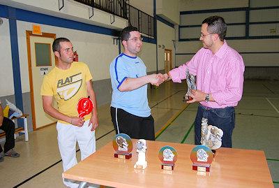 El equipo SERIPOR T.M. gana la Liga de Tenis de Mesa de Porcuna