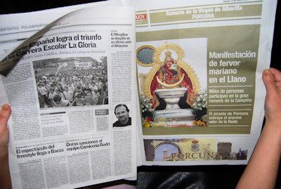 Suplemento especial de la Romería en Diario Jaén