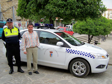 Nueva dotación  para la Policía Municipal de Porcuna