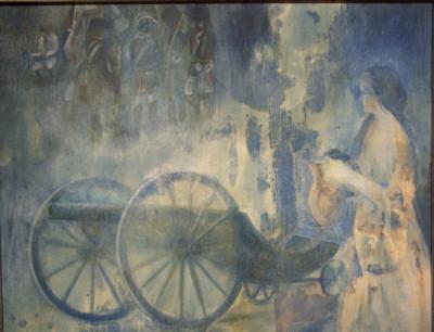 Consuelo Vallejo gana el Concurso de Pintura del Ejército