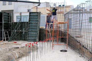 El apeadero de autobuses de Porcuna estará terminado antes de que finalice el año