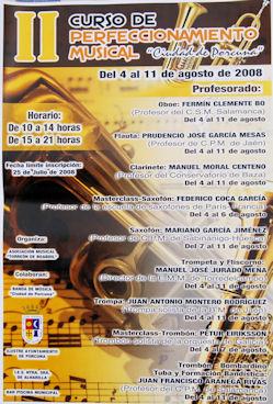 II Curso de Perfeccionamiento Musical 'Ciudad de Porcuna'