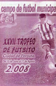Este domingo comienza el Trofeo Futbito 2008