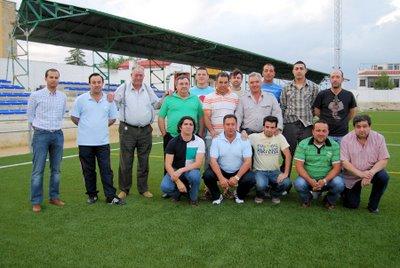 Una nueva junta directiva reorganiza el Atlético de Porcuna para que haya fútbol en la localidad