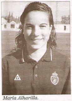María Alharilla, concentrada con España sub 19