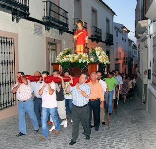 Porcuna celebra la festividad de San Lorenzo
