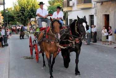 Porcuna celebra su Romería de Agosto