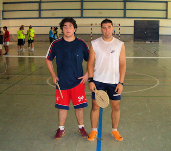 Mario Hurtado se alzó con el campeonato de Badmintenis