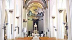 Retraso en el arreglo de los frescos de Romero de Torres en Porcuna