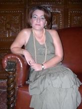 Entrevista a la Alcaldesa de Porcuna con motivo de la Feria Real 2005