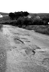 "Critican que la carretera a Arjona es ""intransitable"""